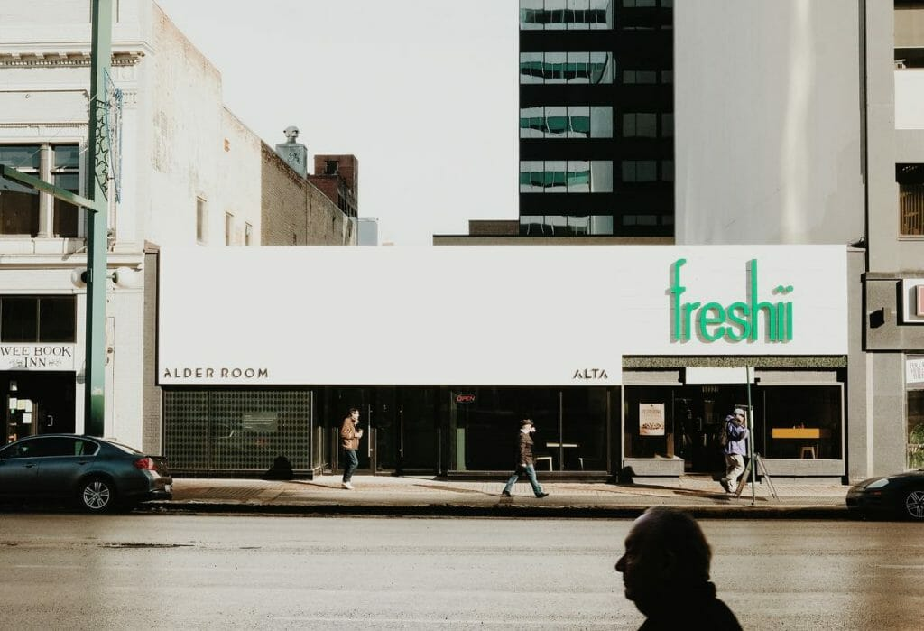 Freshii Restaurant Storefront for Local SEO
