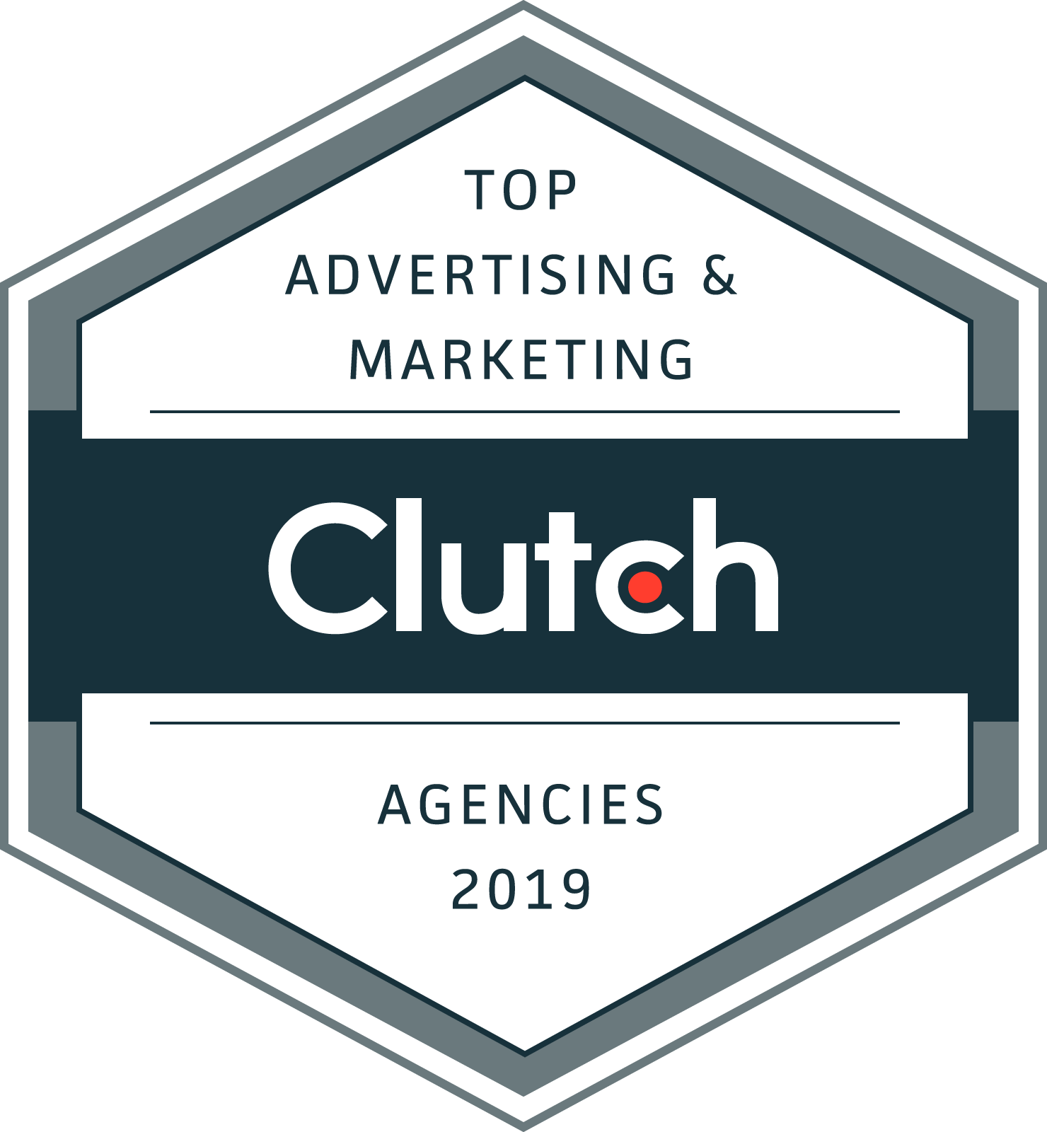 Clutch Top Advertising & Marketing Agencies 2019 Badge