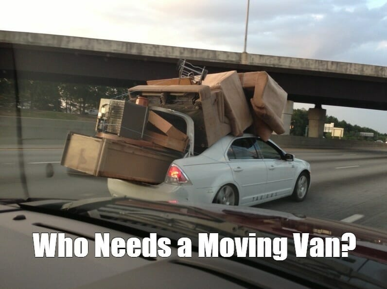 Website Migration Meme - Moving Van