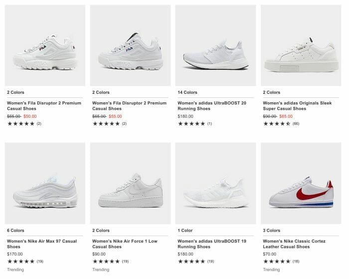 Shopify SEO Shoe Products
